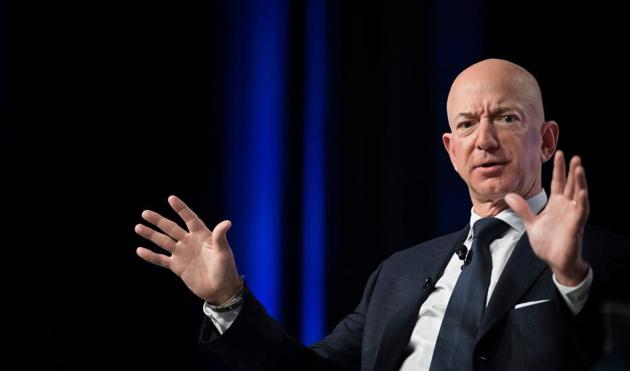 The reclusive billionaire, Amazon CEO Jeff Bezos, turned crisis into opportunity by disclosing embarrassing information and positioning himself as a superhero, telling everyone that he was standing up to a bully on their behalf.(AFP)