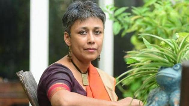 Nandini Sundar photographed for an interview at her residence.(Photo: Ramesh Pathania/Mint.)