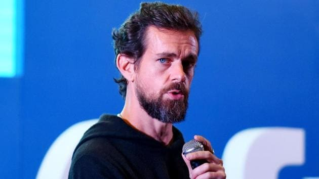 Jack Dorsey had earlier indicated his inability to reach India for the parliamentary committee's sitting in view of the short notice.(Amal KS/Hindustan Times/REX/Shutterstock)