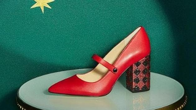 A shoe from Katy Perry's collection(katyperrycollections/Instagram)