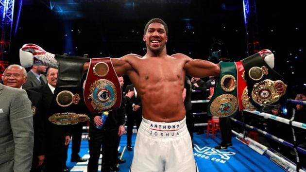File picture of Anthony Joshua(REUTERS)