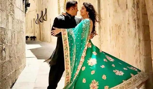 Salman Khan and Katrina will soon be seen together in Bharat.