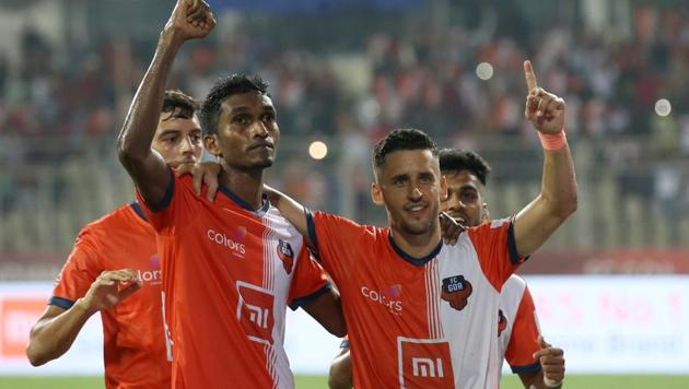 Sergio Lobera's team were on top throughout the game and denied the visitors space and time on the ball(FC Goa Twitter Handle)