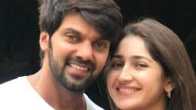 Arya and Sayyeshaa reportedly fell in love while shooting for their film Ghajinikanth.