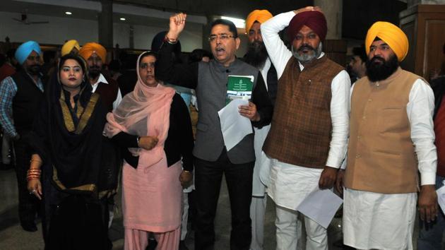 Punjab budget session Day 3: Speaker rejects resolution on Jallianwala Bagh, MLAs...