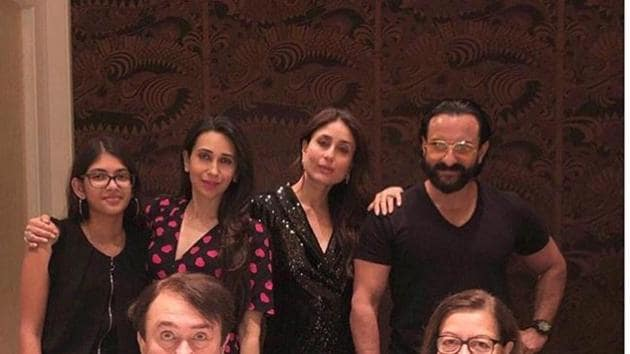 Randhir Kapoor celebrated his birthday with family on Thursday.