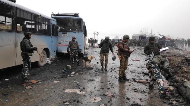 Jammu and Kashmir Police have detained seven persons from Pulwama district of South Kashmir in connection with the deadly terror attack that left 40 CRPF personnel dead near Awantipora, officials said on Friday.(ANI)