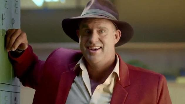 Matthew Hayden in the Star Sports commercial ahead of the India vs Australia limited overs series.(Twitter)