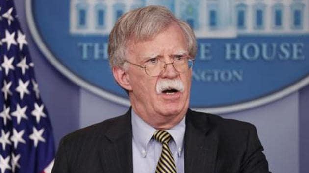 U.S. National Security Advisor John Bolton.(REUTERS FILE PHOTO)