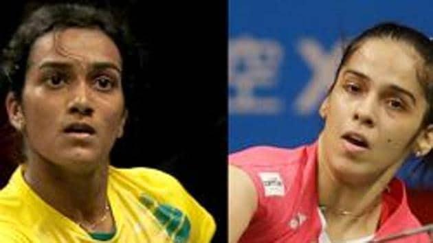File image of PV Sindhu and Saina Nehwal.(Getty Image)