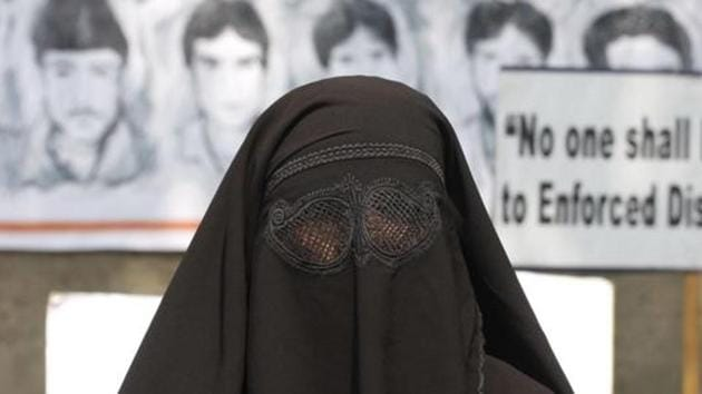 Police in Goa booked a 35-year-old state government employee for dressing as a Muslim woman in a burkha, and entering a ladies toilet at the central bus stand in Panaji, on Saturday.(HT File Photo)