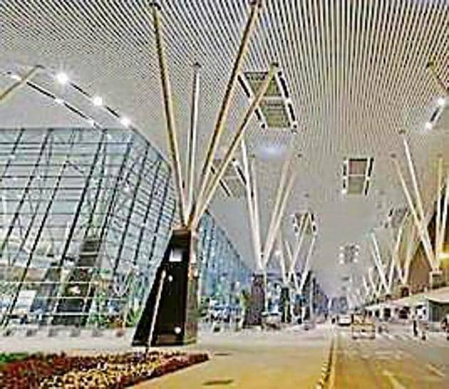 The event will be held at the Kempegowda airport in Bengaluru from Feb 20-24.(HT file)