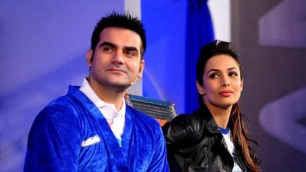 Malaika Arora with ex-husband Arbaaz Khan.