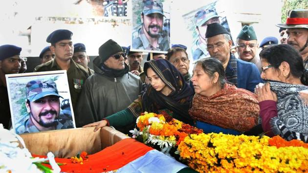 Kaul, who had left Dehradun on Monday morning, was the first to be informed about the major's death by army officials.(PTI)