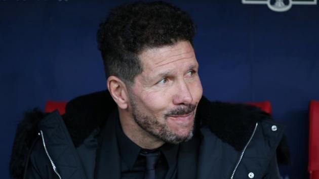 File image of Atletico Madrid coach Diego Simeone.(Reuters)