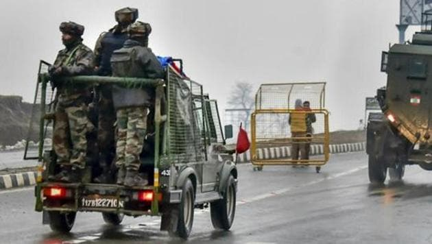 At least 40 soldiers were killed when a 22-year-old Jaish-e-Mohammad (JeM) militant rammed his explosives-laden car into their convoy on February 14.(AP/ Representative Image)