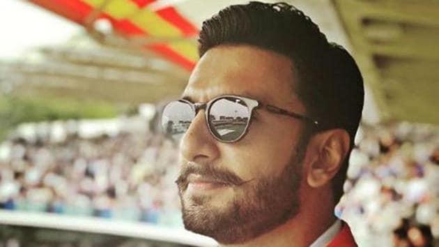Seen here, Ranveer Singh at Lord's Cricket Ground last year.(Instagram)