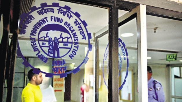 Employees' Provident Fund Organisation in New Delhi.(File Photo)