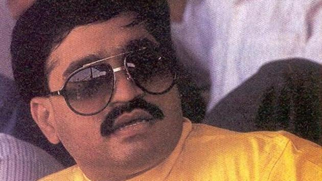 Salim IbrahimShaikh, who claims to be a relative of Dawood Ibrahim's (in photo) wife, told a MCOCA court that he was received by Mehzabeen at the Karachi airport in 2004 and later went to Dawood's bungalow in the affluent Clifton area in the city.(HT File Photo)