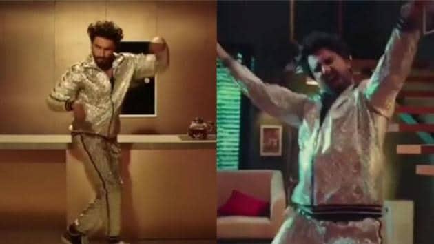 Ranveer Singh dances in Deepika Padukone's absence as if no one's watching in new video.