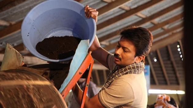 Udhayanidhi Stalin plays a farmer who practices organic farming.