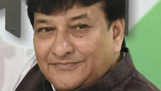 Delhi Congress working president Haroon Yusuf on Thursday created a controversy by alleging that three kg beef could be traced by Prime Minister Narendra Modi but not 350 kg RDX.(Raj K Raj/HT PHOTO)