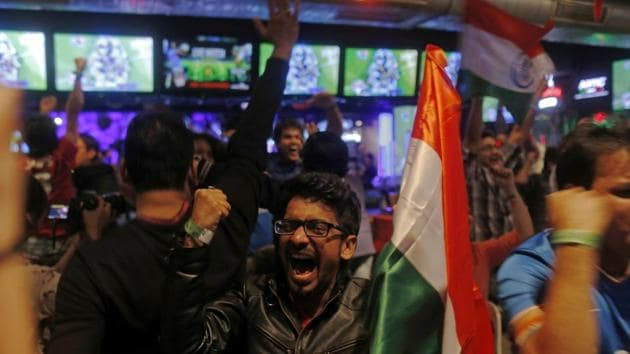 Fans have asked for India to boycott the World Cup match against Pakistan.(AFP)