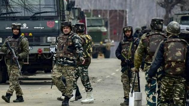 An encounter broke out between militants and security forces in Sopore township of Jammu and Kashmir's Baramulla district on Friday morning, police said.(AP File Photo)