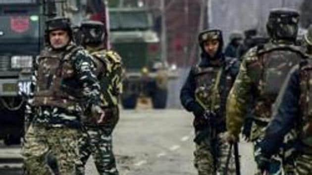2 militants killed in encounter in Kashmir's Baramulla .(AP)