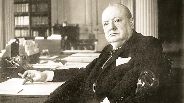 Defender of national freedom at home, upholder of racial oppression abroad — such were the paradoxical politics of Winston Churchill(IWM via Getty Images)