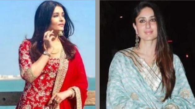 Bollywood goes sharara sharara as divas like Aishwarya, Kareena, Shilpa sport it...