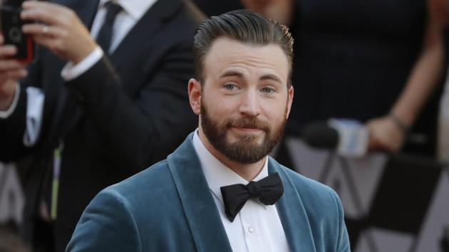 Chris Evans won the Oscars with his gentlemanly behaviour.(REUTERS)