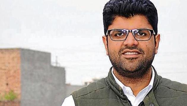 Dushyant Chautala is the INLD Member of Parliament from Hisar in Haryana.(HT Photo)