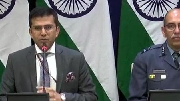 Pak jets targeted our military installations, attempt foiled: Govt(ANI/Twitter)