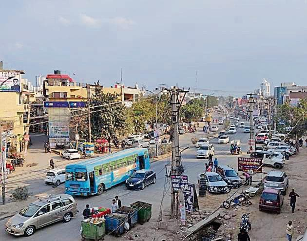 The NHAI is upgrading the 21.66-km long Sohna Road in two parts.(Yogesh Kumar/HT Photo)