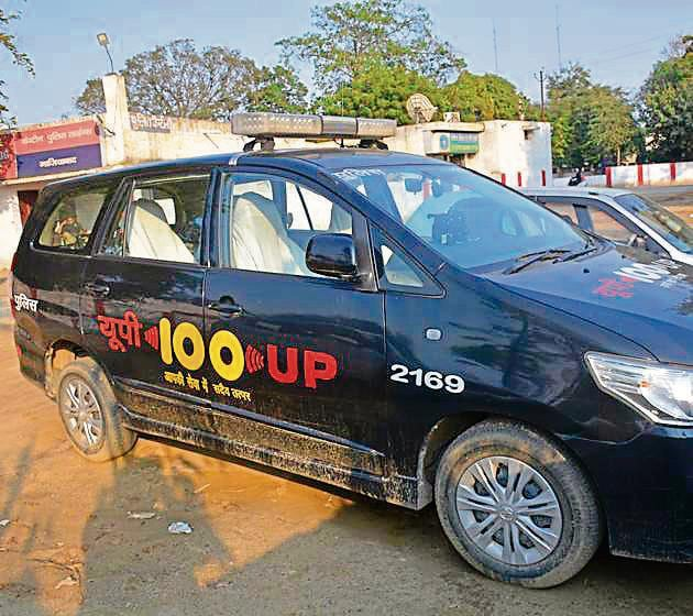 The incident took place on February 26. Deepak Dadu, a manager at an IT company and a resident of Raj Nagar Extension, along with his father, wife and two children, was returning from Delhi around 2.50am after attending a function.(Sakib Ali/HT Photo)