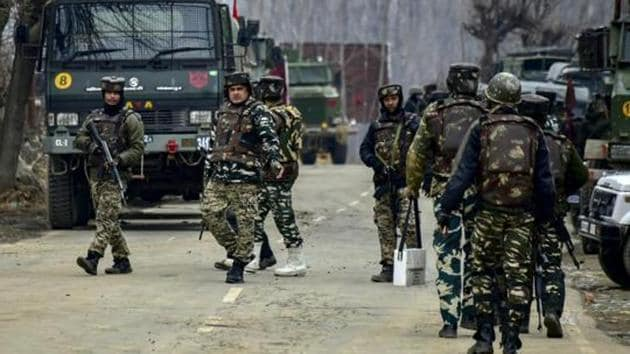 Two Jaish-e-Mohammed terrorists were killed in an encounter in Jammu and Kashmir's Shopian on Wednesday morning.(AP Photo/Representative image)