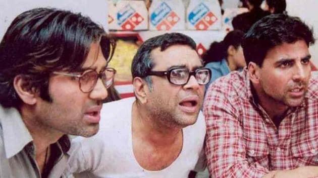 Akshay Kumar, Suniel Shetty, Paresh Rawal to reunite in Hera Pheri 3.
