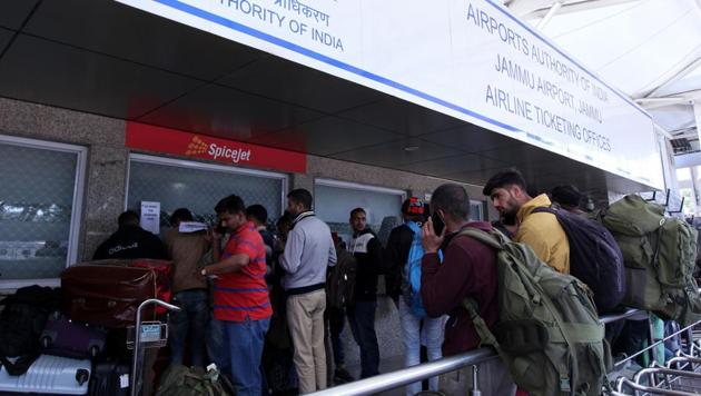 Various airlines such as Air India, Jet Airways, Qatar Airways and Singapore Airlines Wednesday announced they were rerouting their flights as Pakistan closed its airspace in the wake of escalating tensions with India.(AFP)