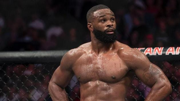 A file photo of Tyron Woodley.(Twitter)
