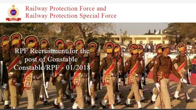 RPF Constable answer sheet/answer keys released(RPF website)
