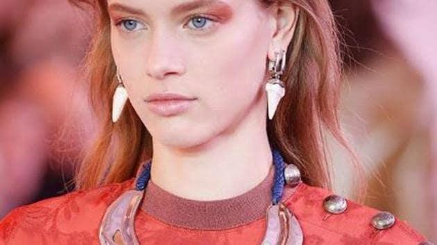 Chloe shows floral, ethnic motifs and bids Lagerfeld adieu at Paris Fashion Week(Chloe/Instagram)