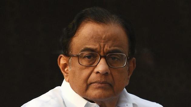 Former union minister P. Chidambaram has said that India and Pakistan must talk in order to avoid war.(Raj K Raj/HT PHOTO)