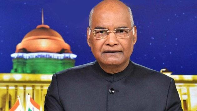Kovind was speaking after presenting the 'President Colours' to the Air Force Station, Hakimpet and 5 Base Repair Depot.(ANI)
