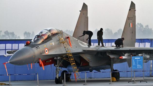 The Indian Air Force on Tuesday said all the Sukhoi-30 fighter jets that were engaged in air combat with the Pakistan Air Force jets on February 27 had returned to base safely, amid claims by the neighbour that it had shot down a Su-30 jet.(Hindustan Times)