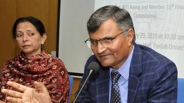 Prior to joining NITI Aayog, Ramesh Chand was the Director of National Institute of Agricultural Economics and Policy Research.(HT File Photo)