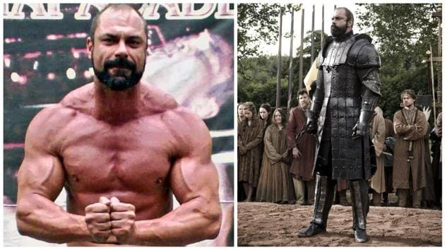 Mark 'Conan' Stevens was the original Mountain- Gregor Clegane, in Season 1 of the HBO's Game Of Thrones, Sedullus in the Spartacus TV series (2012) and the giant Goliath in The Bible miniseries (2013).