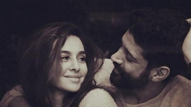 Shibani Dandekar and Farhan Akhtar often share pictures of them together on social media.(Instagram)