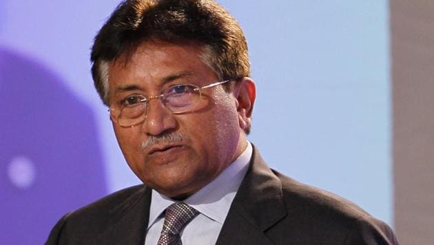 A suicide bomber had attempted to assassinate General Pervez Musharraf in December 2003 at Jhanda Chichi. Recalling the incident, Musharraf said that it was fortunate that he wasn't killed in the attempt.(HT File Photo)