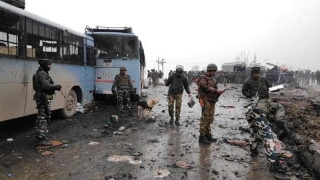 The JeM had taken responsibility of the attack in Jammu and Kashmir's Pulwama district on February 14, in which 40 CRPF personnel were killed. Tensions between India and Pakistan flared up after the attack.(ANI/File Photo)